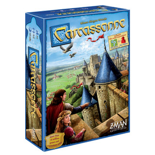 Carcassonne Board Game - 1