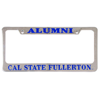 Alumni Chrome Plated License Plate Frame
