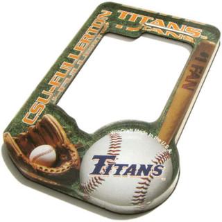 Baseball Fan's Magnet