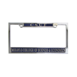 Mihaylo License Plate Frame