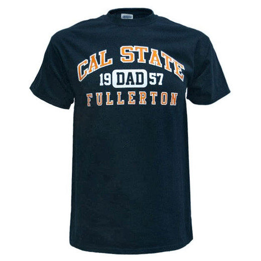 Fullerton Dad Tee - Navy