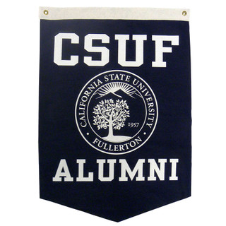 CSUF Alumni Banner - Navy