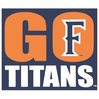 Go Titans Decal