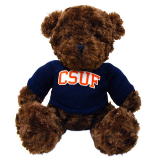 Bear Plush With CSUF Sweater