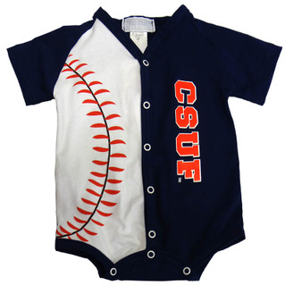 Toddler Baseball Onesie - Navy