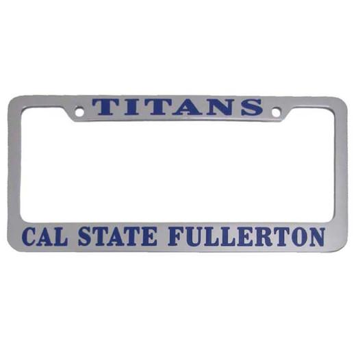 Titans Chrome Plated License Plate Frame