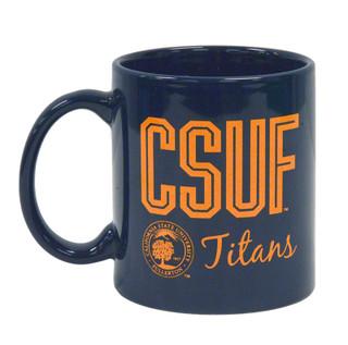 CSUF Titans Morning Mug - Navy