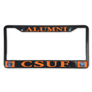 Alumni Seal License Frame - Black