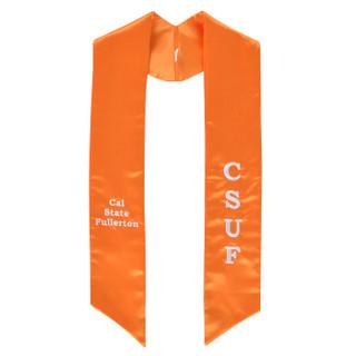 Orange Academic Mini Sash