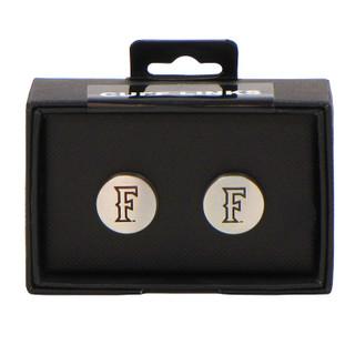 "Fullerton ""F"" Cuff Links - Silver"