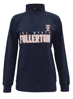 Fitted in Fullerton Women's Pullover Jacket - Navy