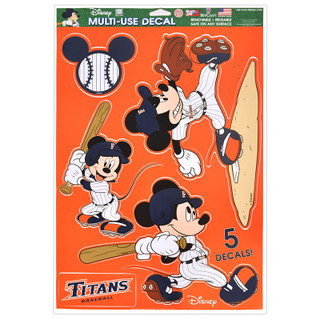 Baseball Mickey Multi-Use Decals
