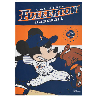 Pitching Mickey Vertical Flag