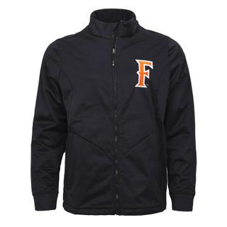 F' Golf Zip Up Jacket - Black