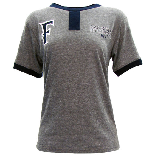 Double Header Raglan Tee - Oxford