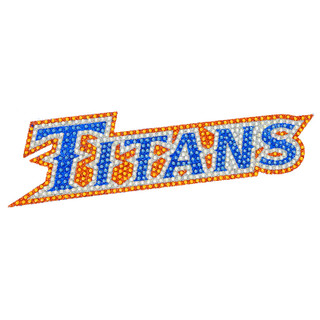 Titans Glitter Decal
