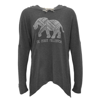 Fuzzy Tuffy Hoodie - Charcoal