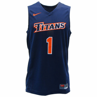 Nike Titans Replica Basketball Jersey - Navy