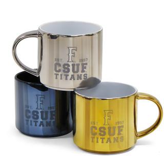 CSUF Ramsey Metallic Mug