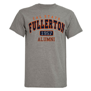 1957 Alumni Tee - Oxford/Navy