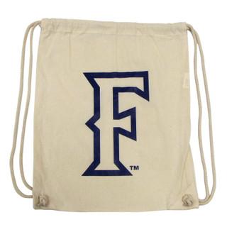 Stadium 'F' Drawstring Bag