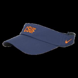 Nike Golf Tech Visor - CSUF Navy