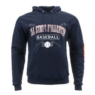 What A Heater! Baseball Hoodie - Navy