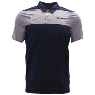 Nike Block Polo - Navy