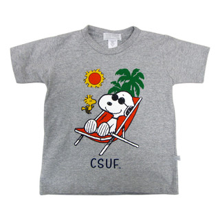 Snoopy Chillin' in the Sun Tee - Oxford