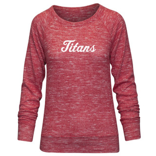 Lady Titans Pullover - Red