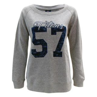 Titans '57 Ladies Classic Raglan Crewneck - Oxford