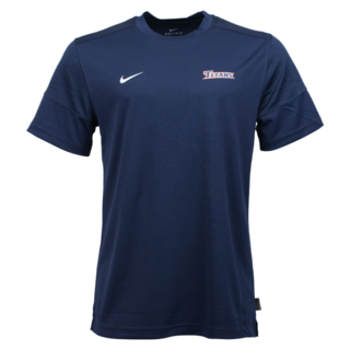 Nike Men's UV Coach Short Sleeve Tee - Navy