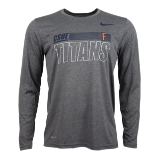 CSUF Titans Legend LS Tee with F Logo