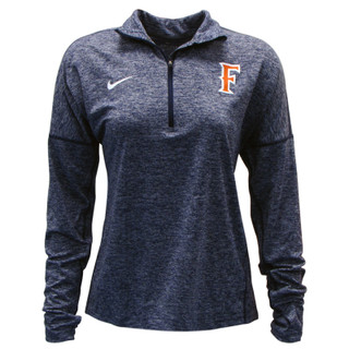 F Logo Dry Element Heather 1/2 Zip