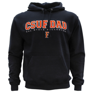 CSUF Dad Over 'F' Powerblend Fleece Hood