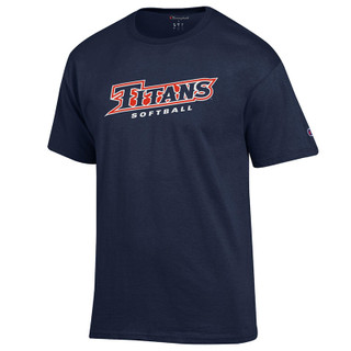 Titans Softball Tee - Navy