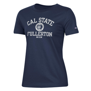 Cal State Fullerton Mom Seal Tee- Small