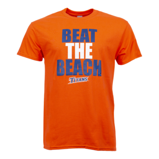 Beat the Beach Tee - Orange