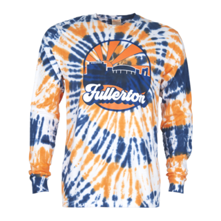 Mihaylo Skyline Tie Dye Long Sleeve