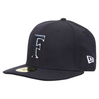 New Era 'F' Cap - Navy/White