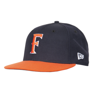 New Era 'F' Cap - Navy/Orange