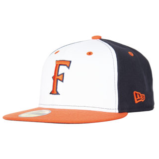 New Era CalTitan Cap - White Orange