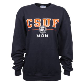 CSUF Seal Mom Crew - Navy