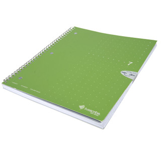 Livescribe Wirebound 1 Subject Notebook - Green