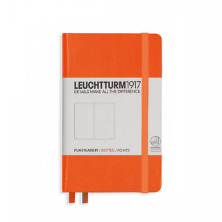 Pocket Dotted Notebook - Orange