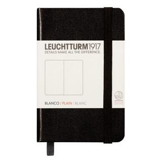 Mini Plain Notebook - Black