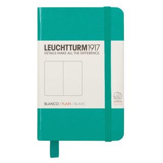 Mini Plain Notebook - Emerald