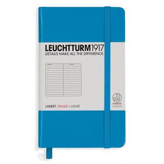 Mini Ruled Notebook - Azure