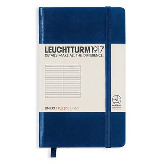 Mini Ruled Notebook - Navy