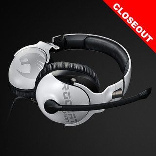 Roccat Pro Gaming Headset - White